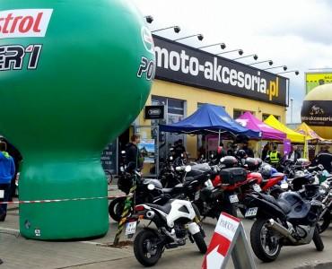 Niedziele Motocyklowe z Castrol przed salonem Moto-Arcesoria z