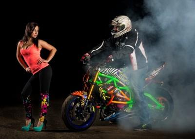 Ducati, Triumph i dziewczyny - sesja do kalendarza