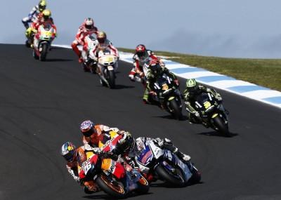 Wyścigi na Philip Island - GP Australii 2012 w obiektywie