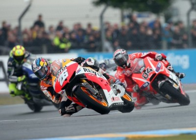 Francuska runda MotoGP - wyścigi na zdjęciach