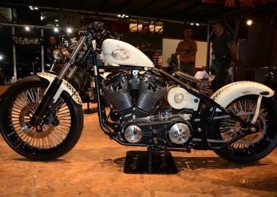 Motocykle customowe i egzotyczne na targach EICMA - fotogaleria