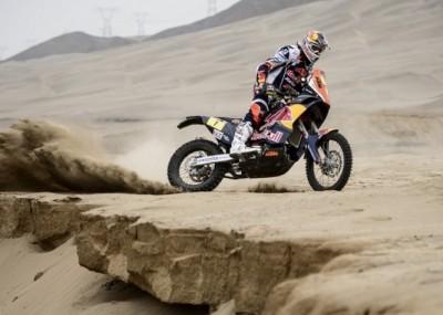 Motocykle i pustynia - Dakar 2013
