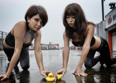 Uroki orientu - dziewczyny na GP Japonii