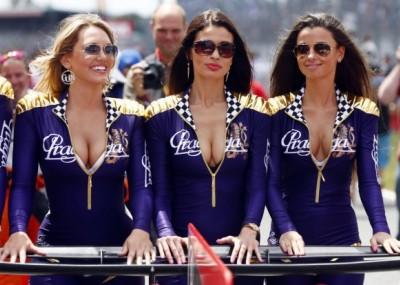 Dziewczyny z GP Katalonii w obiektywie!