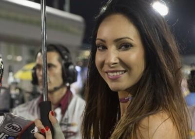 Piękne dziewczyny na GP Kataru - okiem fotografa