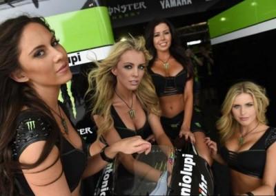 Piękne dziewczyny na torze Circuit of the Americas