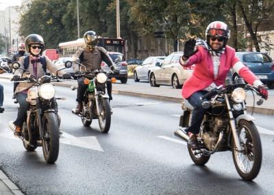 Distinguished Gentleman's Ride w Warszawie - fotogaleria