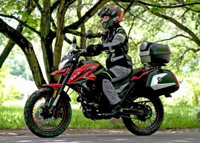 Zipp VZ-5 - ekonomiczny motocykl na kategorię B - galeria zdjęć