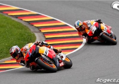 Dominacja Hiszpanów podczas niemieckiej rundy MotoGP - zdjęcia