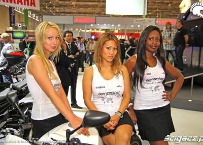 Dziewczyny i motocykle, czyli targi w Kolonii - Intermot 2010