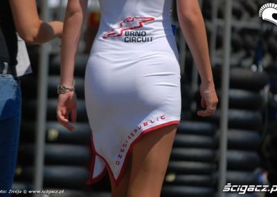 Dziewczyny na World Superbike Brno 2011