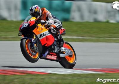 Fotogaleria z testów MotoGP na torze w Malezji