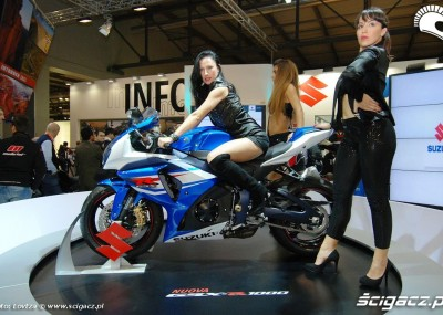Hostessy i modelki na EICMA 2011