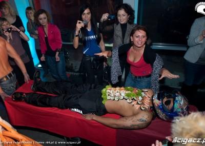 Kobiety, motocykle i salon Yamahy - impreza w obiektywie