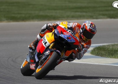 MotoGP na torze Indianapolis - wyścigi w obiektywie