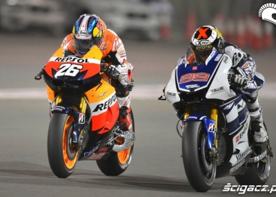 Moto GP: Katar 2012 - zdjęcia z wyścigu