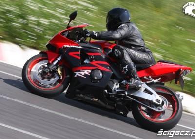 Motocykle na torze kartingowym w Radomiu