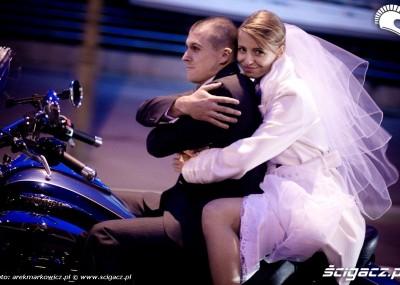Triumph Rocket III - motocyklem do ślubu