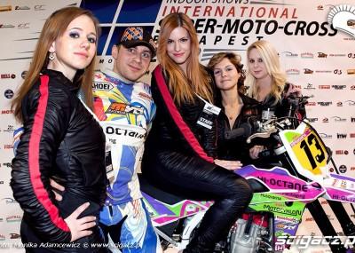 Wojtek Mańczak na Super Moto Crossie w Budapeszcie