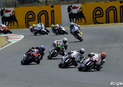 Wyścig Moto2 podczas GP Mugello okiem fotografa