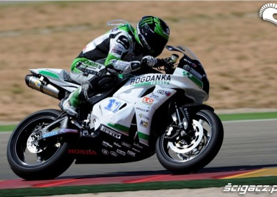 Wyścigi Supersport na torze Aragon 2012