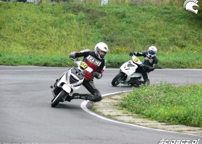 Wyścigi skuterów w Lublinie