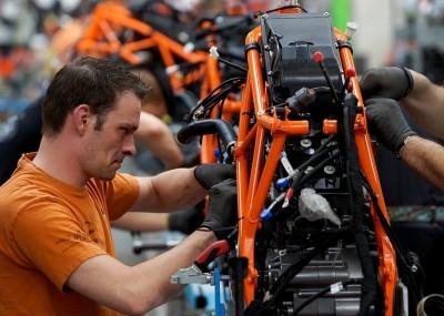 Tak powstają motocykle - fabryka KTM na zdjęciach