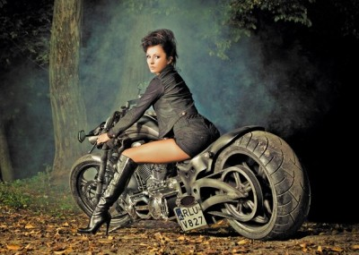 Hardkorowe motocykle z Game Over Cycles - fotogaleria