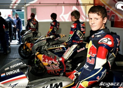 Juniorzy na torze MotoGP - Rookies Cup na Silverstone