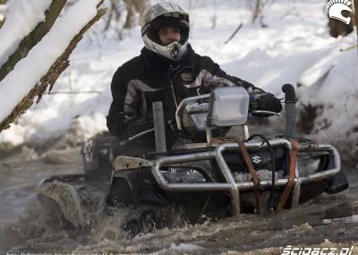 Mamry Challenge 2009 - zimowy rajd przeprawowy