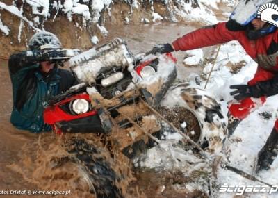Yamaha Cup 2008 - zimowa przeprawa