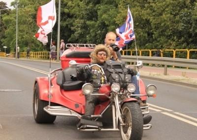 Zlot miłośników turystki motocyklowej - zdjęcia z Bydgoszczy