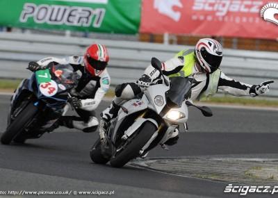 Szkolenie motocyklistów w Poznaniu - California Superbike School w obiektywie