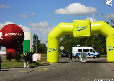Inwazja motocyklistów na stacje BP w Szczecinie