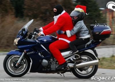 Motocykliści i quadowcy dzieciom z domu dziecka pod choinkę 2008