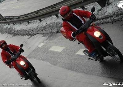 Parada Mikołajów w Trójmieście - motocyklowe Mikołajki 2010