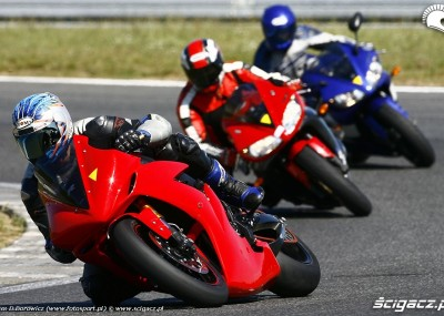 Yamaha Pawelec - sierpniowe treningi