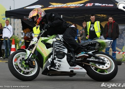 Motocyklowa niedziela na BP w Warszawie 2010