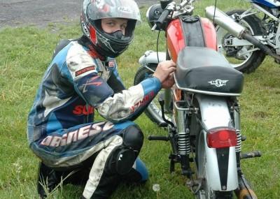 Wyścigi zabytkowych motocykli na lubelskim torze