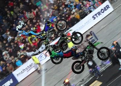 Latające motocykle na Nitro Cirus Live - fotogaleria