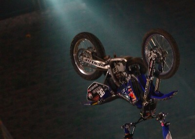 Red Bull X-Fighters Warszawa - Pastrana, Rebeaud i inni na treningu