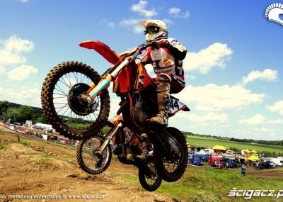 Więcbork gości motocrossowców - zdjęcia z Pucharu Krajny 2012