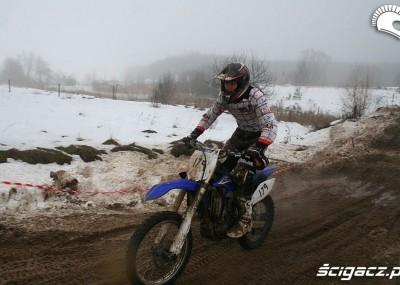 WOŚP w Siemiatyczach - wyścig Snow Cross