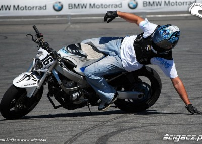 Stunt show na torze Hockenheimring