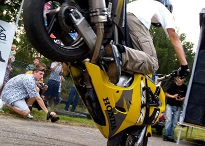 Leśniowice i stunt - 6. zlot motocyklowy 2008