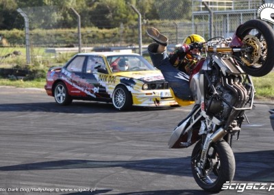 Stunt i drift w Toruniu - Stunter 13 i PUZ Drift Team