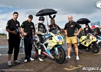 Wyścigi motocyklowe - Nemuno Ziedas na Litwie