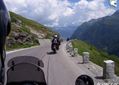 Alpy - zdjęcia z wycieczki motocyklem