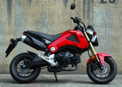 Honda dla wyluzowanych - zdjęcia MSX 125