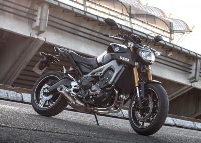 Trzycylindrowa Yamaha atakuje - MT-09 2014 w obiektywie
